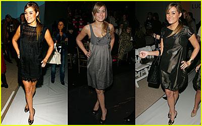 Lauren Conrad's Fashion Week Fun