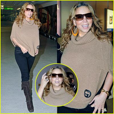 Mariah Lands in London