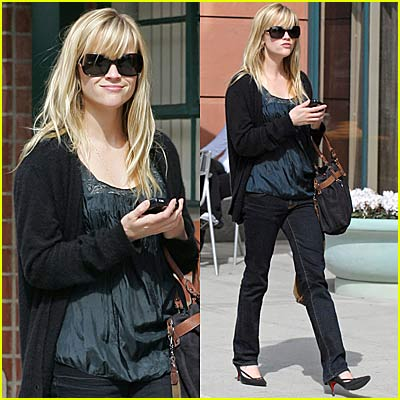 Reese Witherspoon Gets a Check-Up