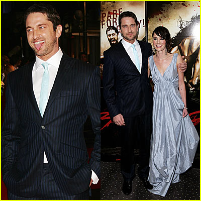 Gerard Butler: '300' UK Movie Premiere