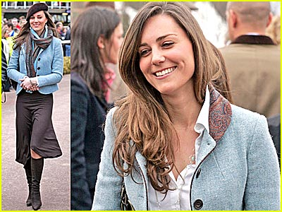 Kate Middleton Ponies Up Alone