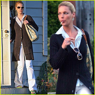 Katherine Heigl Picks Up The Booze