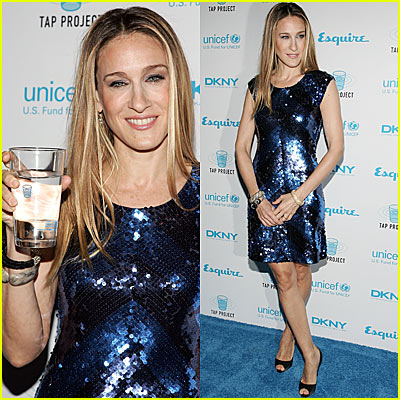 Who's Drinking Tap? Sarah Jessica Parker!