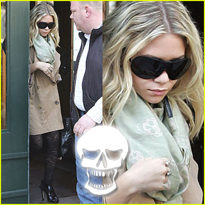 Ashley Olsen: Skulls are Still the New Chic