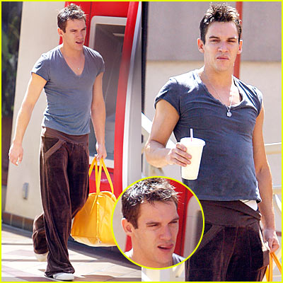 Jonathan Rhys Meyers is Hot and Sweaty