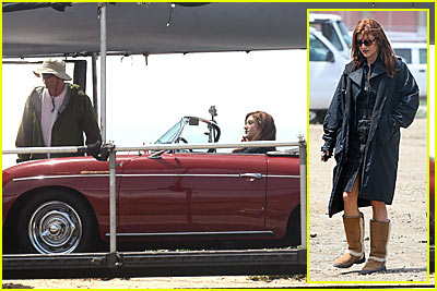 Kate Walsh Films Grey's Anatomy... or the Spin-Off