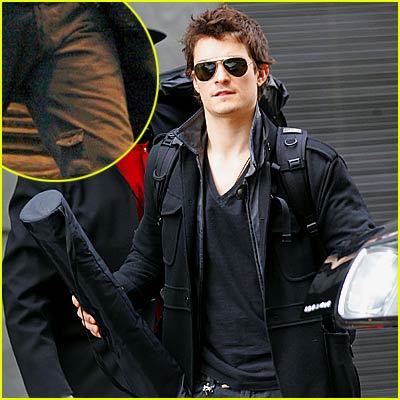 Orlando Bloom Leaves the Big Apple