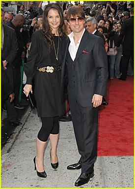 Tom & Katie Attend Scientology Benefit