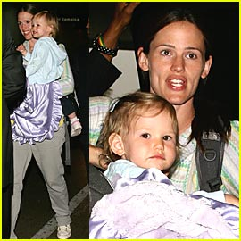 Jennifer Garner: I See Violet in Me