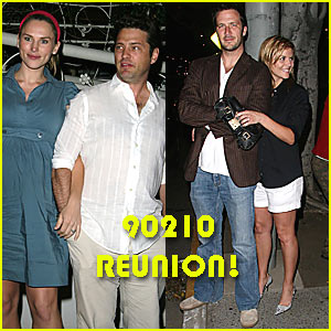 Jason Priestley: It's a '90210' Reunion!