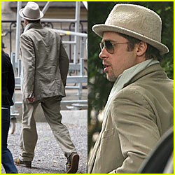 Brad Pitt @ American Embassy