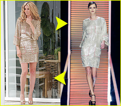 Fashion Faceoff: Ferragamo Minidress