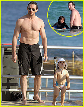Hugh Jackman: Shirtless in Sydney