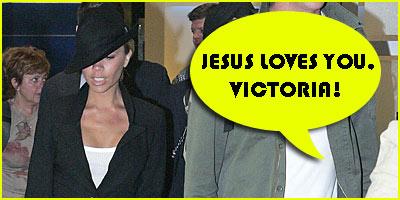 Jesus Loves Victoria Beckham