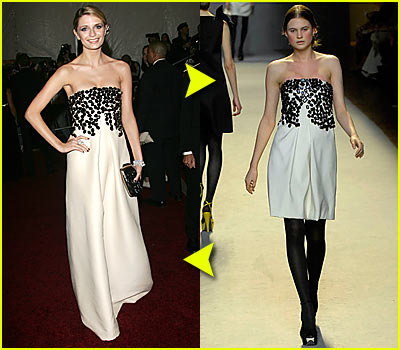 Mischa Barton @ Costume Institute 2007