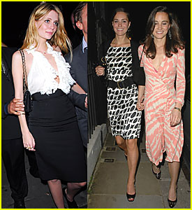 Kate Middleton and Her Sista Pippa