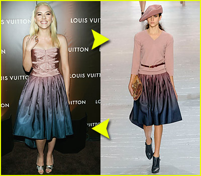 Fashion Faceoff: Louis Vuitton Dress