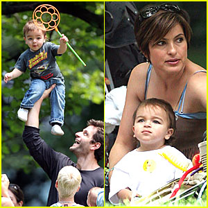 Mariska Hargitay's Son's Birthday Bash