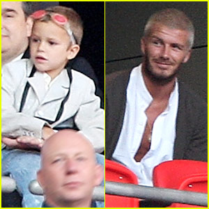 David Beckham @ Concert for Diana