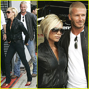 Beckhams @ British Grand Prix
