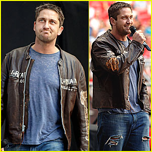Gerard Butler @ Live Earth