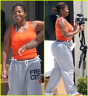 Janet Jackson's Badonkadonk -- Is that FOR REAL?
