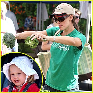 Jennifer Garner's Farmer's Market Meal