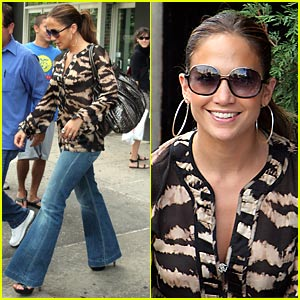 Jennifer Lopez Lunches with Scientologist Star