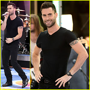 Adam Levine @ The Today Show