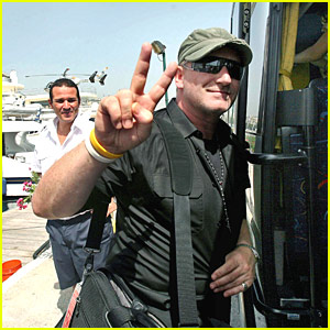 Bono Kicks Back on a Yacht