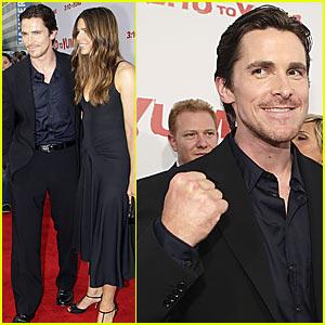 Christian Bale's Yummy Yuma Premiere