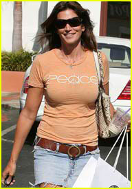 Cindy Crawford Wears Her Peace