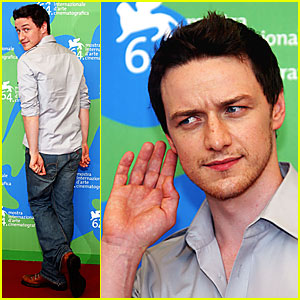 James McAvoy @ Venice Film Festival