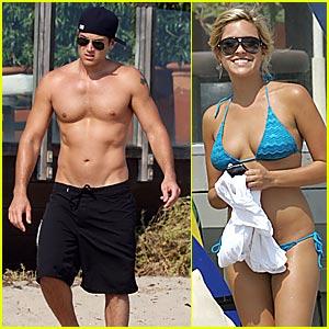 Nick & Kristin are Beach Bums