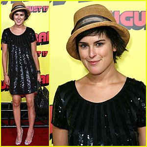 Rumer Willis @ Superbad Premiere