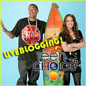 Liveblogging @ Teen Choice Awards 2007