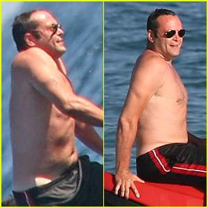 Vince Vaughn is a Shirtless Swinger