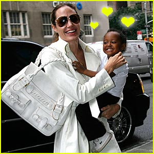Angelina & Zahara are a Laughing Matter
