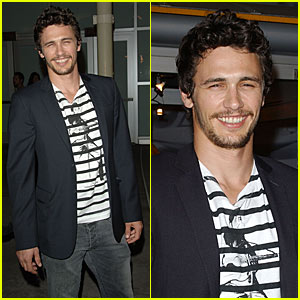 James Franco @ 'In the Valley of Elah' Premiere