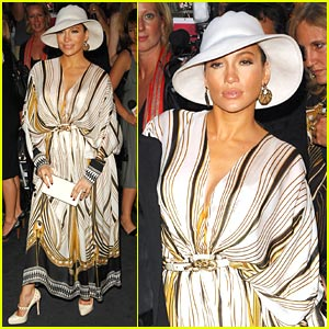 Jennifer Lopez @ Just Cavalli Launch