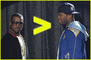 Kanye West > 50 Cent