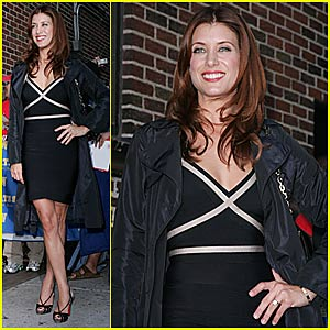 Kate Walsh @ Letterman
