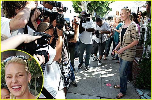 Katherine Heigl @ The Ivy