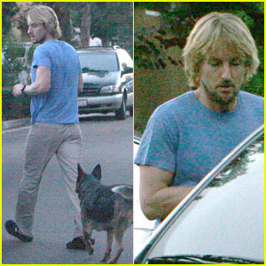 Owen Wilson Celebrates Labor Day
