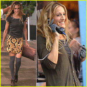 Sarah Jessica Parker's Knee-High Fashion