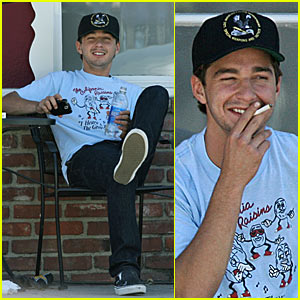 Shia's Smoke Break