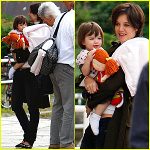 Suri Cruise is a Baby Doll