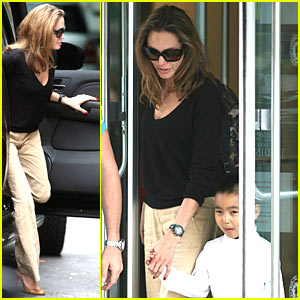 Angelina Jolie is a Manhattan Mom