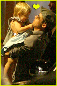 Brad & Shiloh's Special Daddy-Daughter Moment
