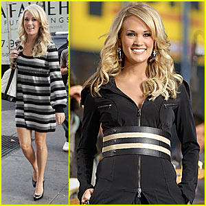 Carrie Underwood @ Good Morning America